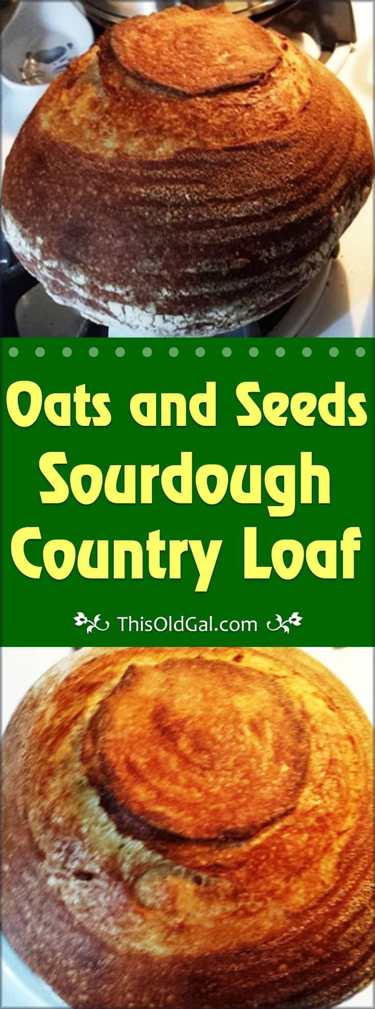 Oats and Seeds Sourdough Country Loaf