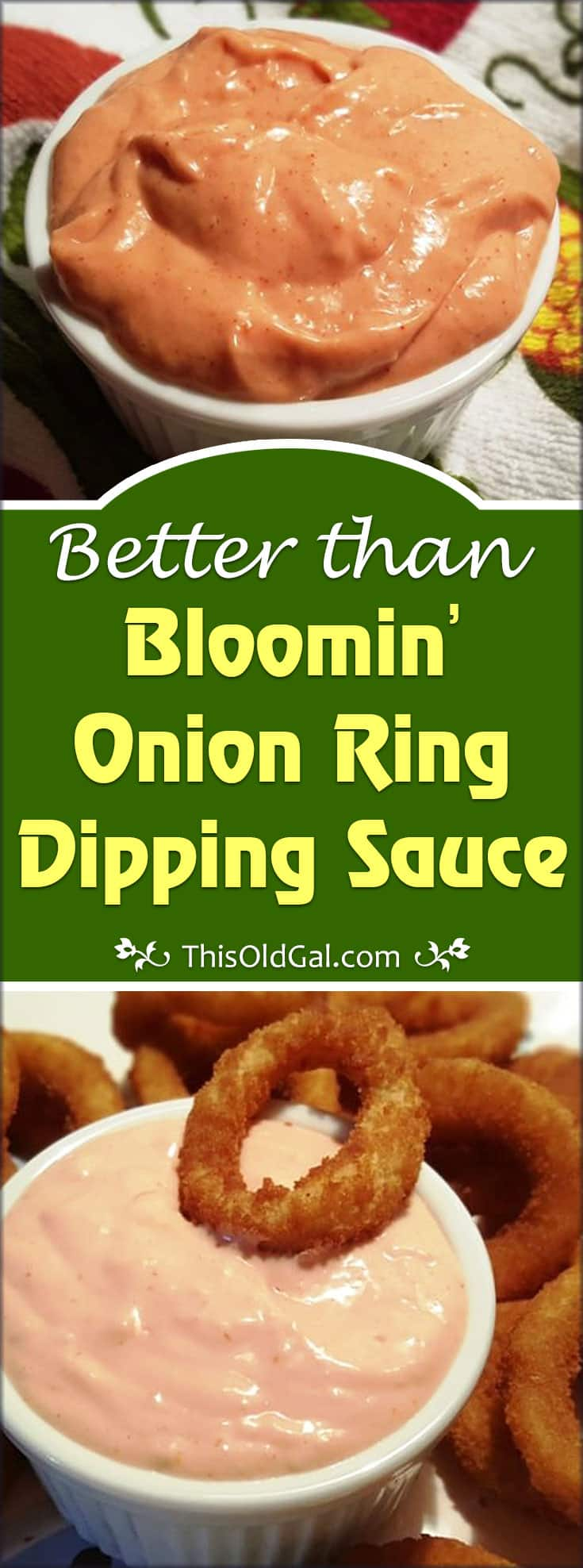 Better than Bloomin' Onion Ring Dipping Sauce Recipe