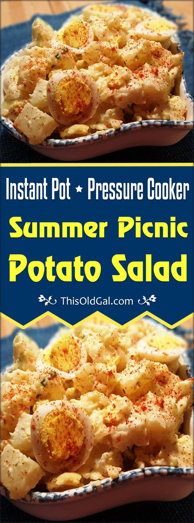 Pressure Cooker Summer Picnic Potato Salad