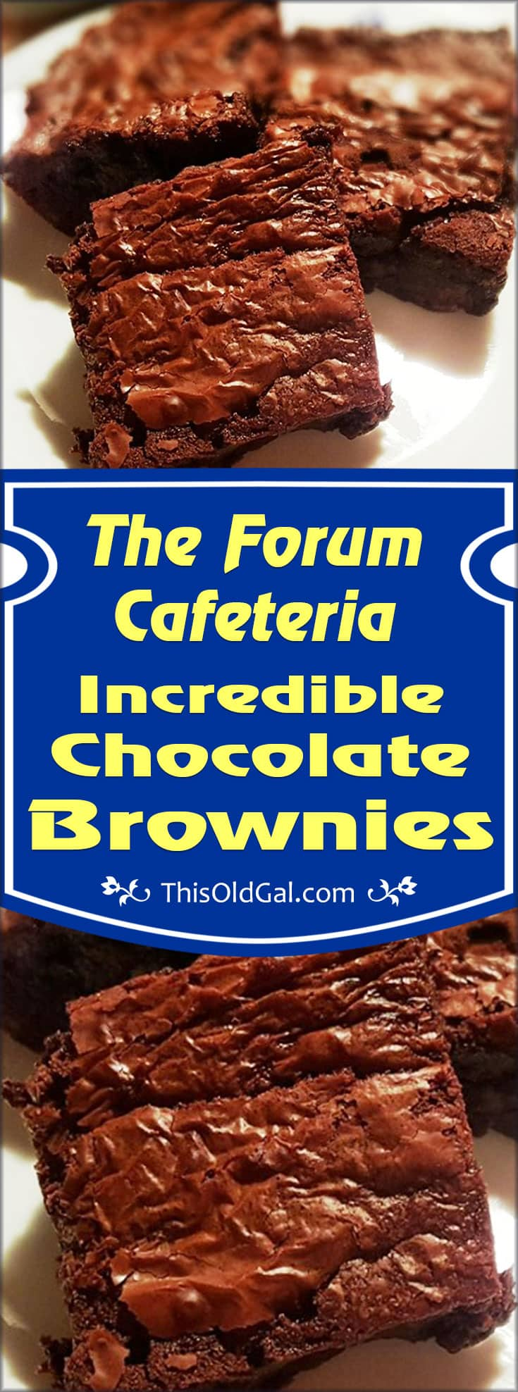 The Forum Cafeteria Incredible Chocolate Brownies