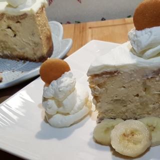 Pressure Cooker Banana Pudding Cheesecake
