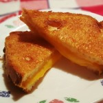 Air Fryer Simple Grilled American Cheese Sandwich