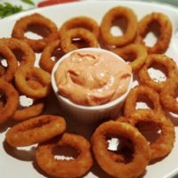 Air Fryer Frozen Onion Rings