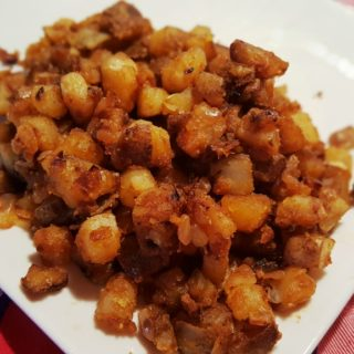 New York Style Coffee Shop Home Fries (Greasy Spoon Fried Potatoes)