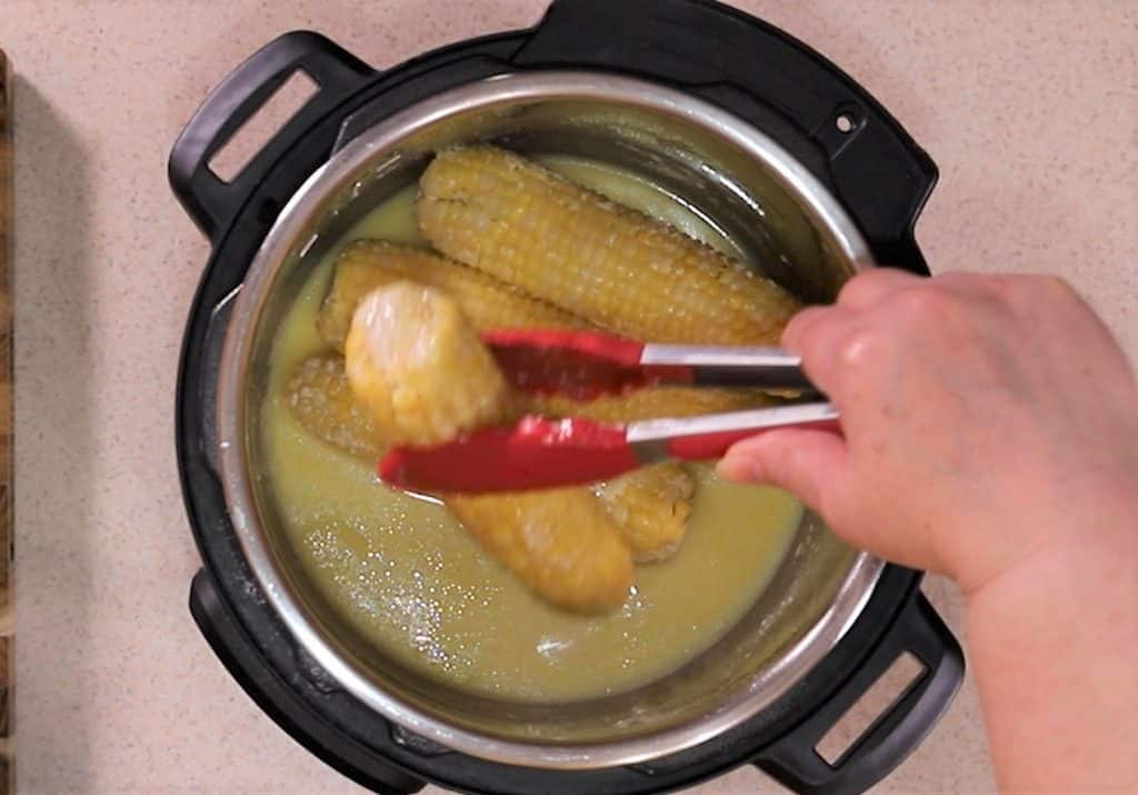 Add Corn Back to the Pot After Straining Out Milkfat