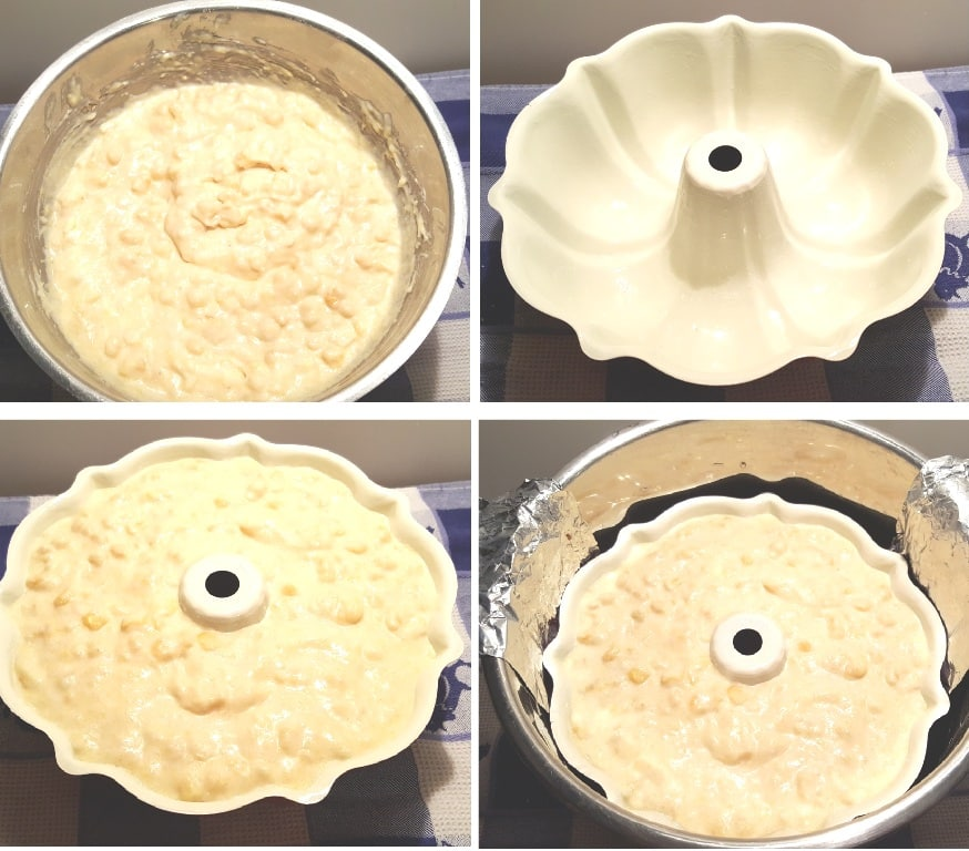 Grease a Bundt or Casserole DishGrease a Bundt or Casserole Dish
