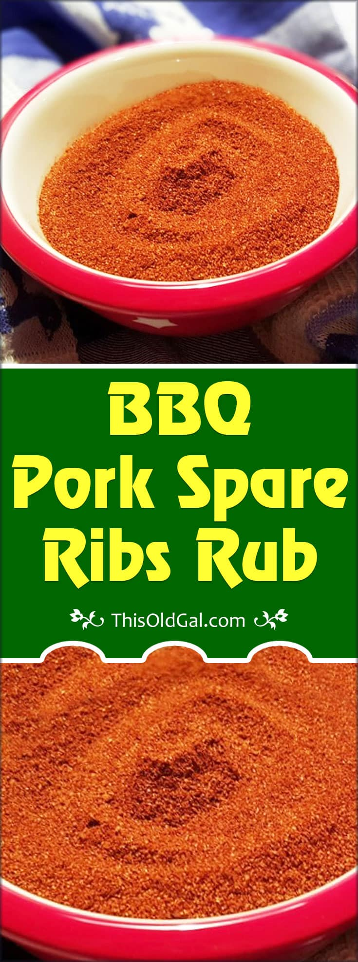 BBQ Pork Spare Ribs Rub