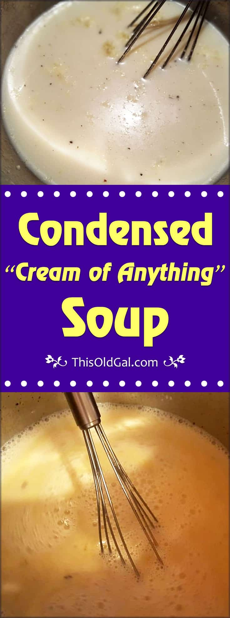 "Condensed ""Cream of Anything"" Soup"