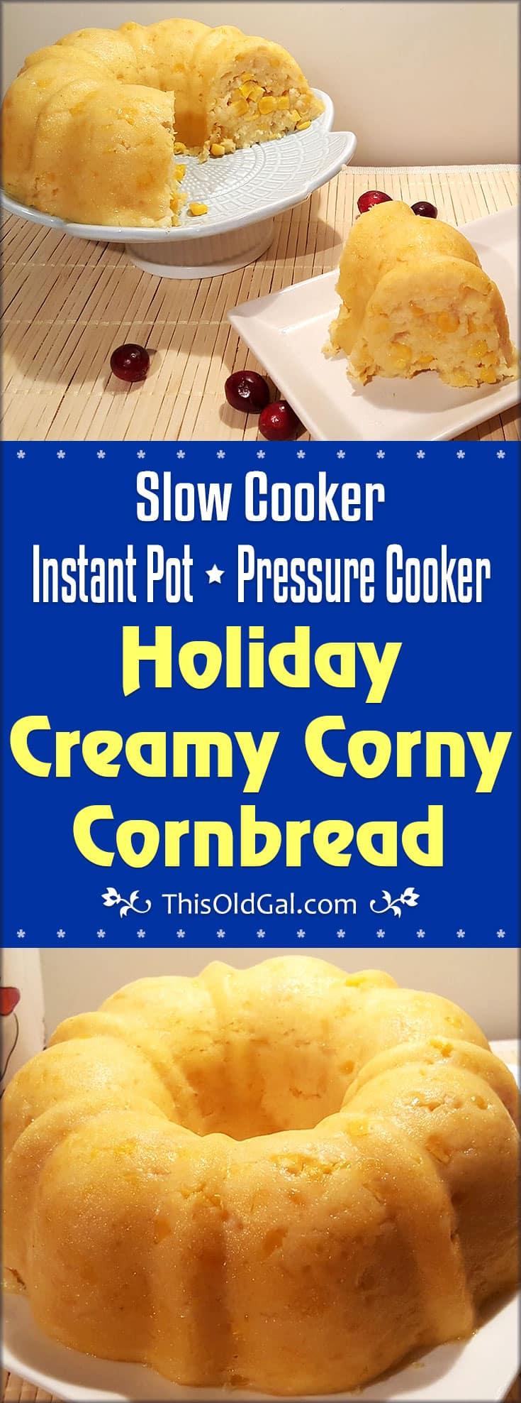 Holiday Creamy Corny Cornbread