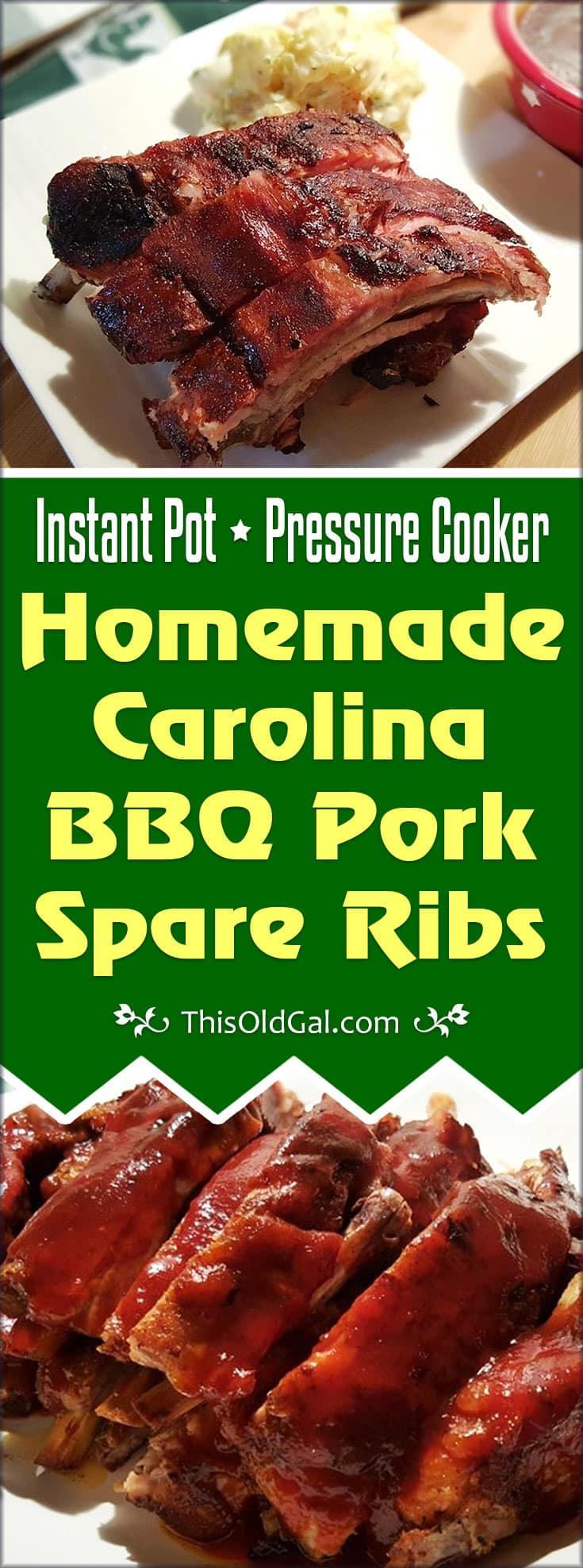 how to cook spare ribs in a pressure cooker