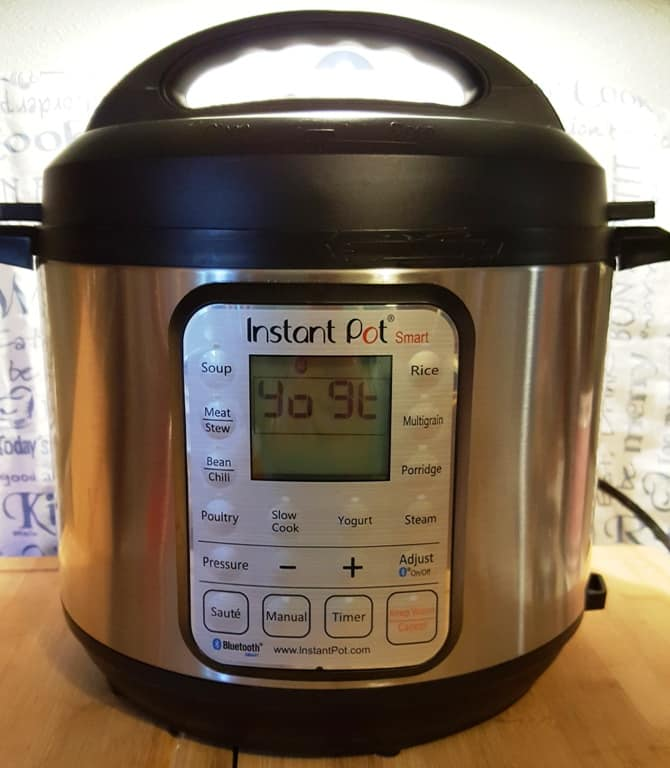 Press the Yogurt Button and then the Adjust Button on Your Instant Pot