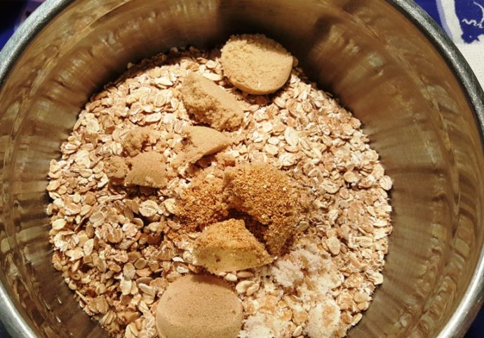 Add Dry Ingredients to a Large Mixing Bowl