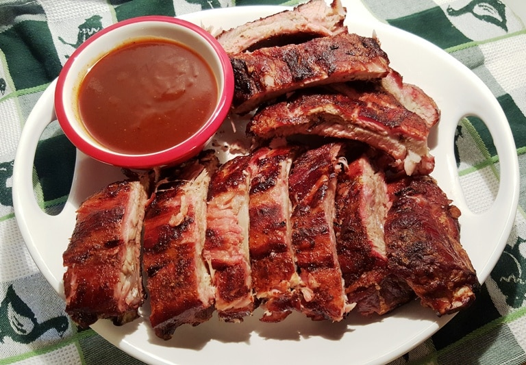 Baby Back Carolina Style BBQ Pork Ribs