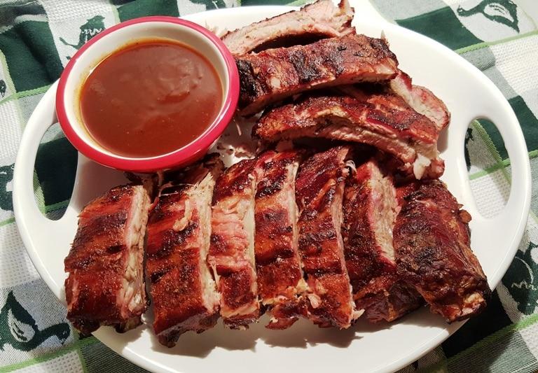 My Favorite BBQ Baby Back Pork Ribs Recipe