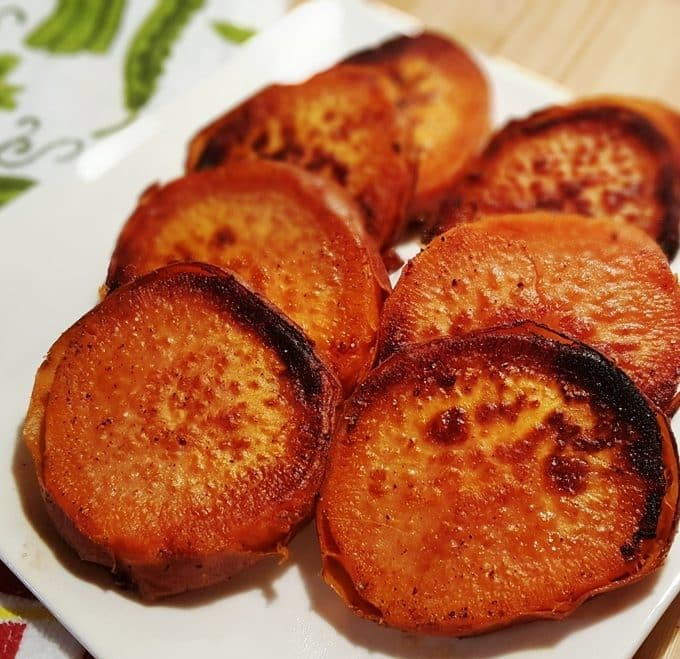 Pressure Cooker Caramelized Sweet Potatoes (or Yams)