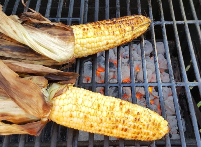Rub Ghee on the Corn