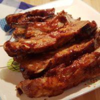 Pressure Cooker BBQ Pork Spare Ribs