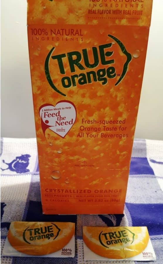 If you don't have fresh oranges, True Orange is a fantastic substitute