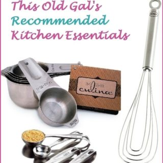 My Kitchen Tools, Gadgets, Equipment and Essentials
