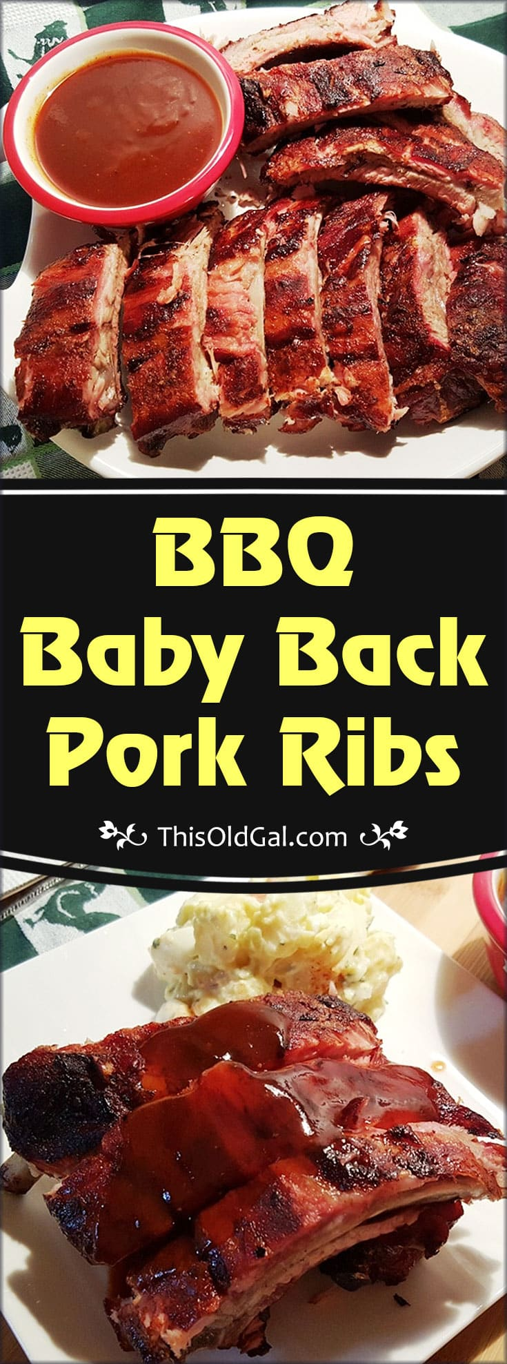 My Favorite BBQ Baby Back Pork Ribs Recipe