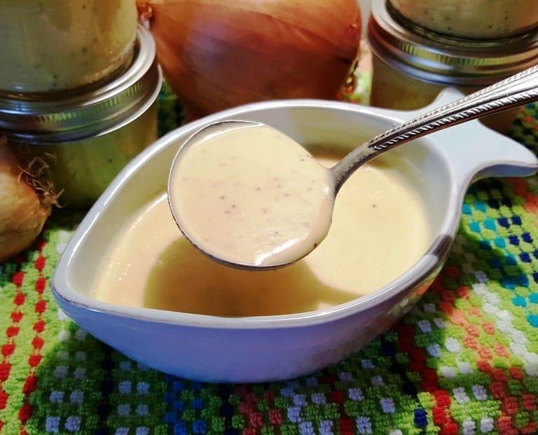 Sweet Vidalia Onion Salad Dressing and Marinade