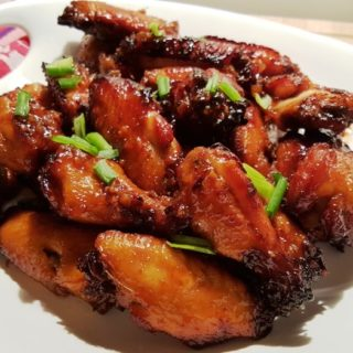 Pressure Cooker Honey Garlic Chicken Wings Thighs Legs