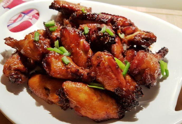 Pressure Cooker Honey Garlic Chicken Wings Thighs Legs