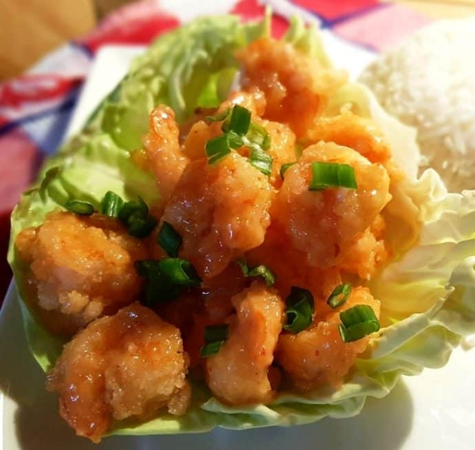 Bang Bang Shrimp Bonefish Grill