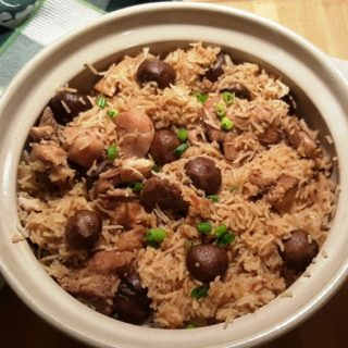 Pressure Cooker Mr. Yoshidas Chicken Rice
