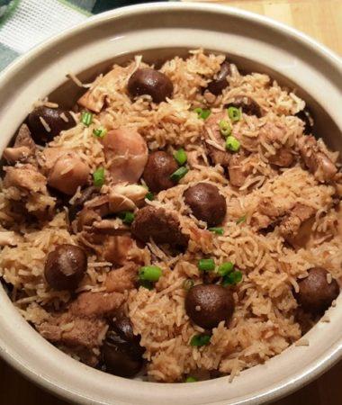 Pressure Cooker Mr Yoshidas Chicken Rice