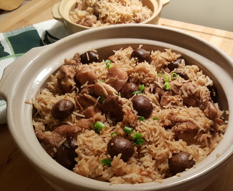 Pressure Cooker One Pot Chicken and Rice