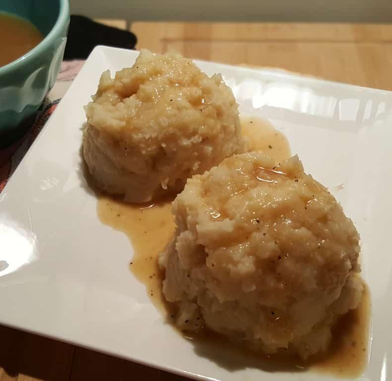 Asian Glistening Mashed Potatoes