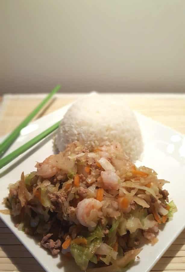 Pressure Cooker Healthy Inside Out Eggrolls {Egg Roll in a Bowl}