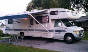 Camping at John Prince Park in Florida