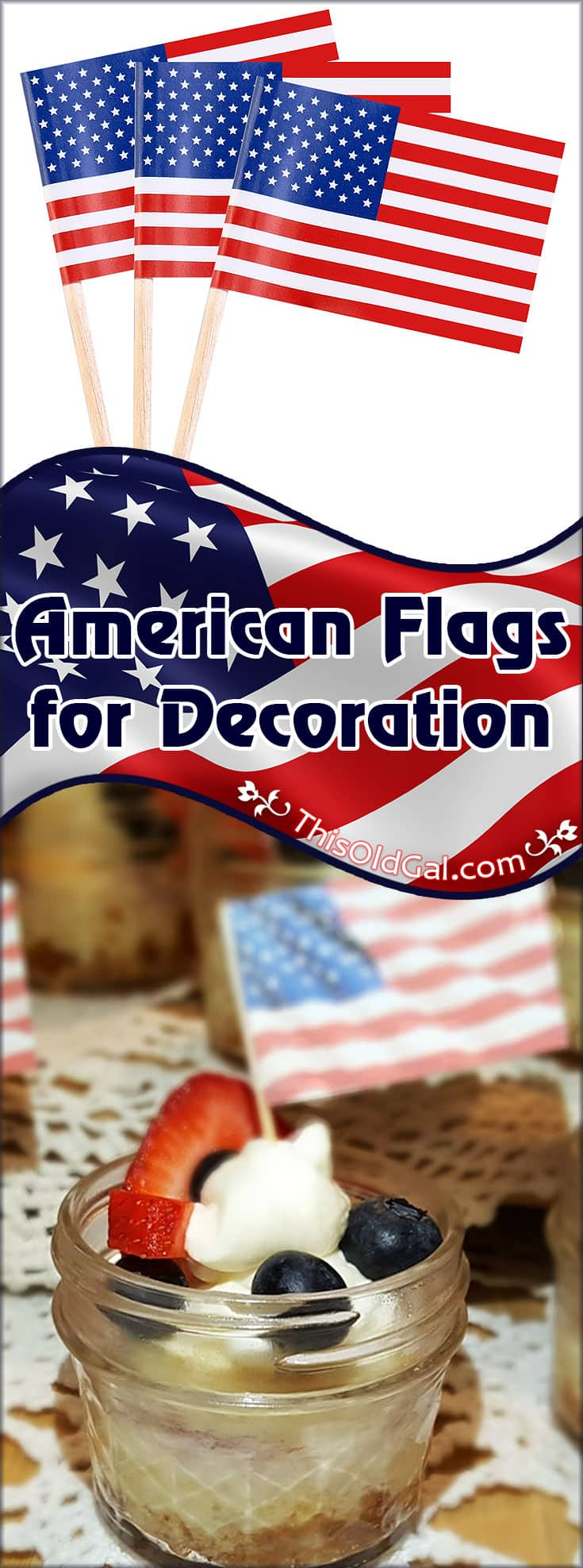 American Flags for Decoration