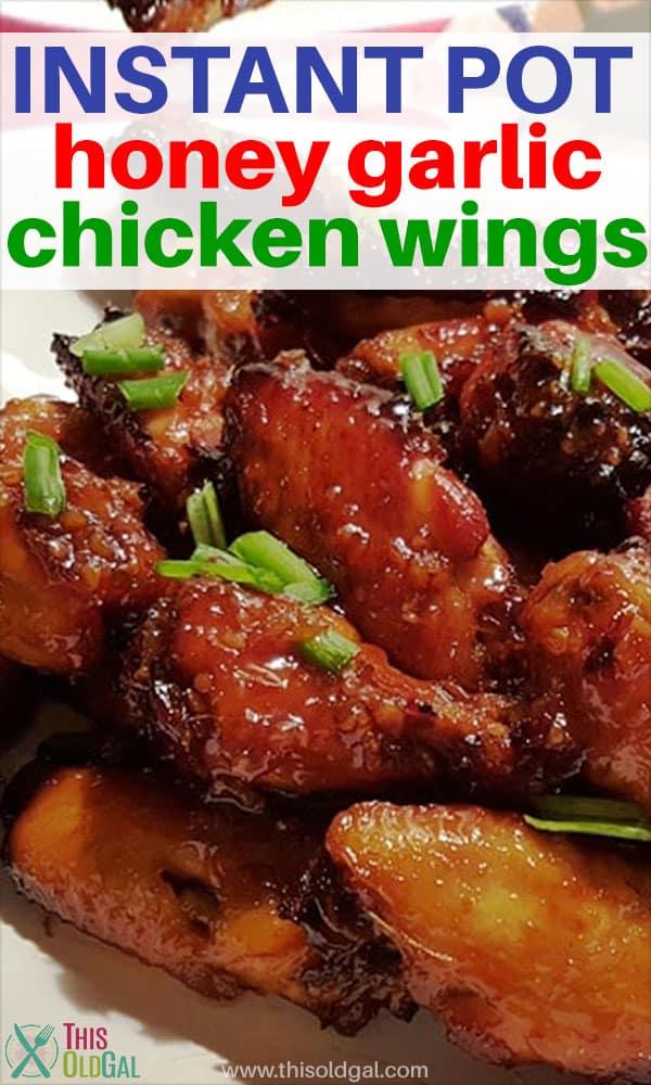 Instant Pot Honey Garlic Chicken Wings