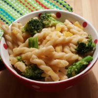 Pressure Cooker Pasta with Blue Cheese, Broccoli and Butternut Squash