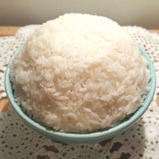 Pressure Cooker Ghee Rice {White, Jasmine, Basmati}
