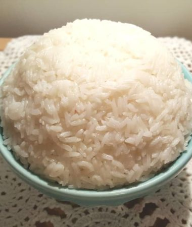 Pressure Cooker Ghee Rice