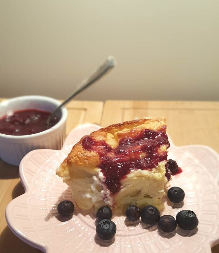 Shabbos Brunch Blintz Soufflé {Kosher Dairy}