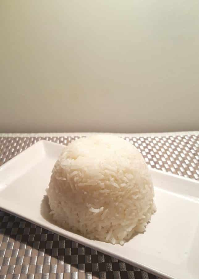 Pressure Cooker White Rice