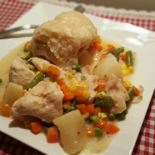 Pressure Cooker Chicken Pot Pie