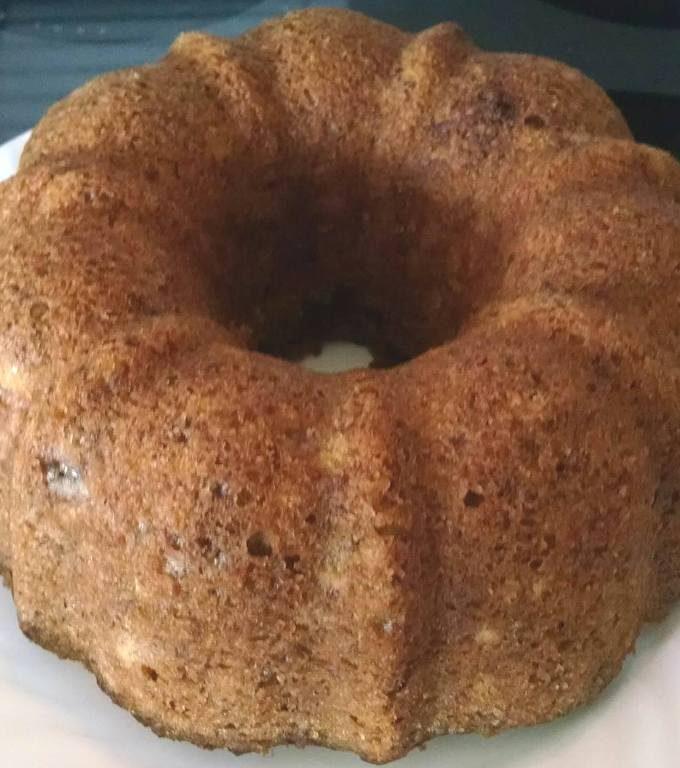 Pressure Cooker Grandma Mills' Banana Nut Bread, Bundt Style
