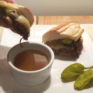 Pressure Cooker Italian Drip Beef French Dip