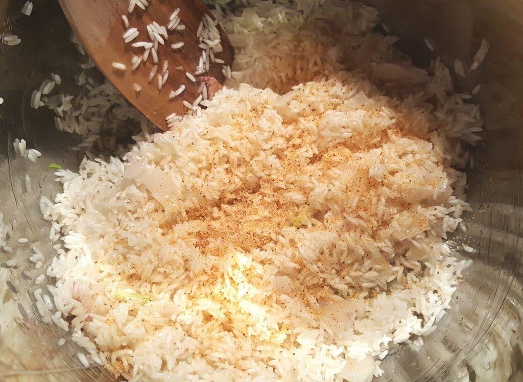 Season your Rice