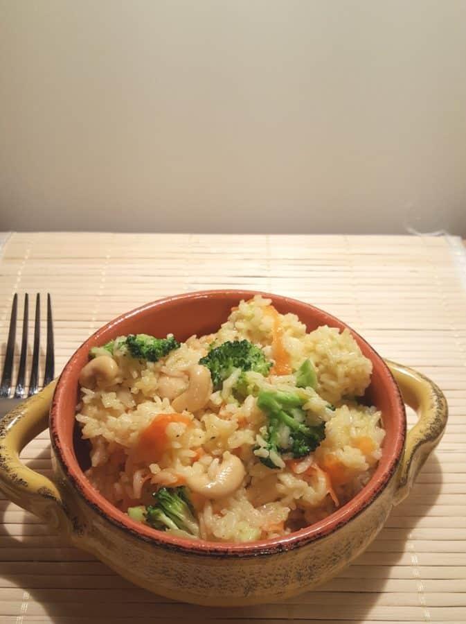 Pressure Cooker Ghee Vegetable Rice