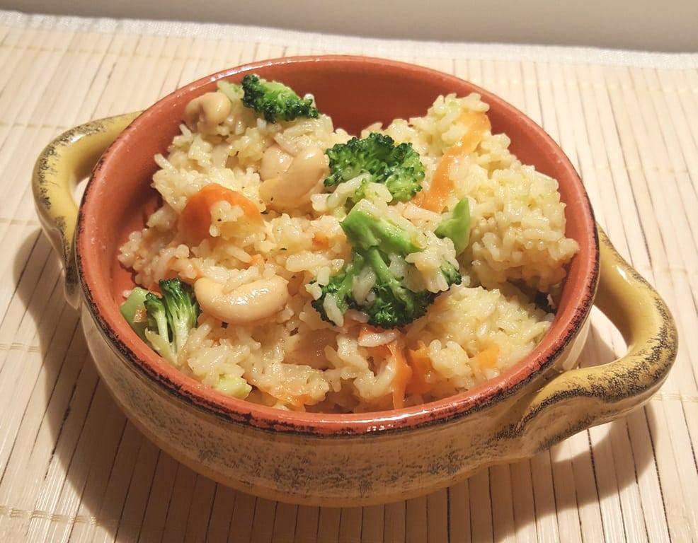 Pressure Cooker Seasoned Vegetable Ghee Rice