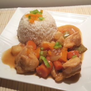Pressure Cooker Chinese Orange Pepper Chicken