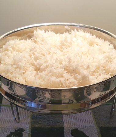 Perfectly Cooked Pot in Pot White Rice