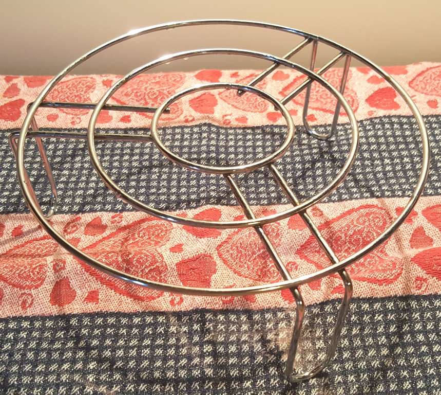 Long Legged Stainless Steel Steamer Rack/Trivet